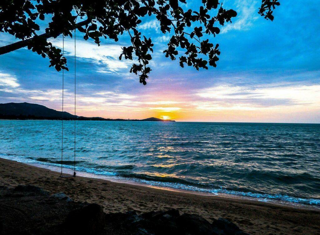 L'île de Koh Samui, en Taïlande
