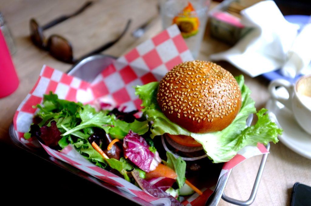 Burger à New York