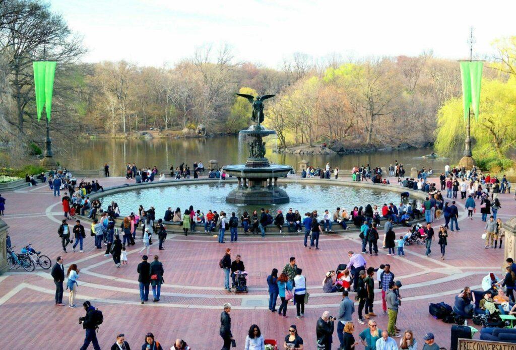 fontaine central park