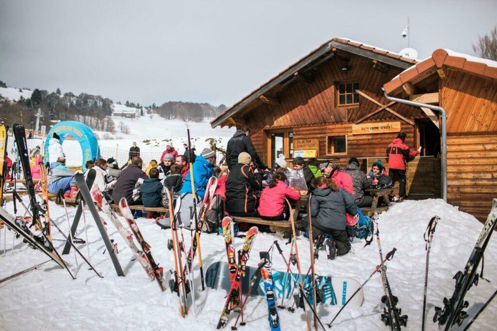 ski à Prabouré