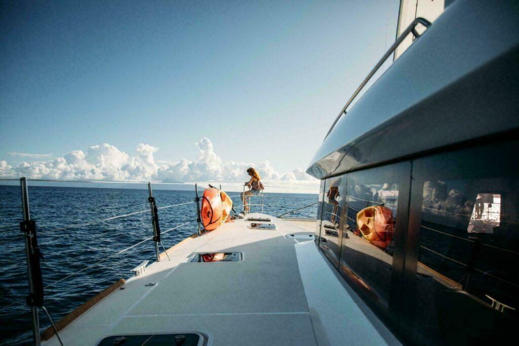 Croisière en Guadeloupe, sur le bateau