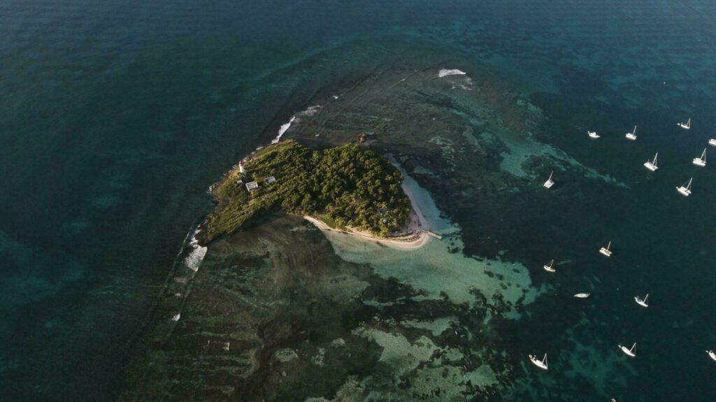 Croisière en Guadeloupe - Ilet du Gosier