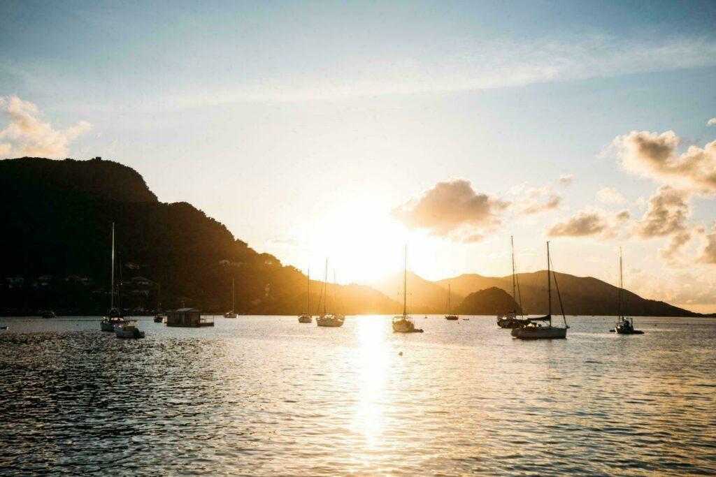 Port des Saintes en Guadeloupe