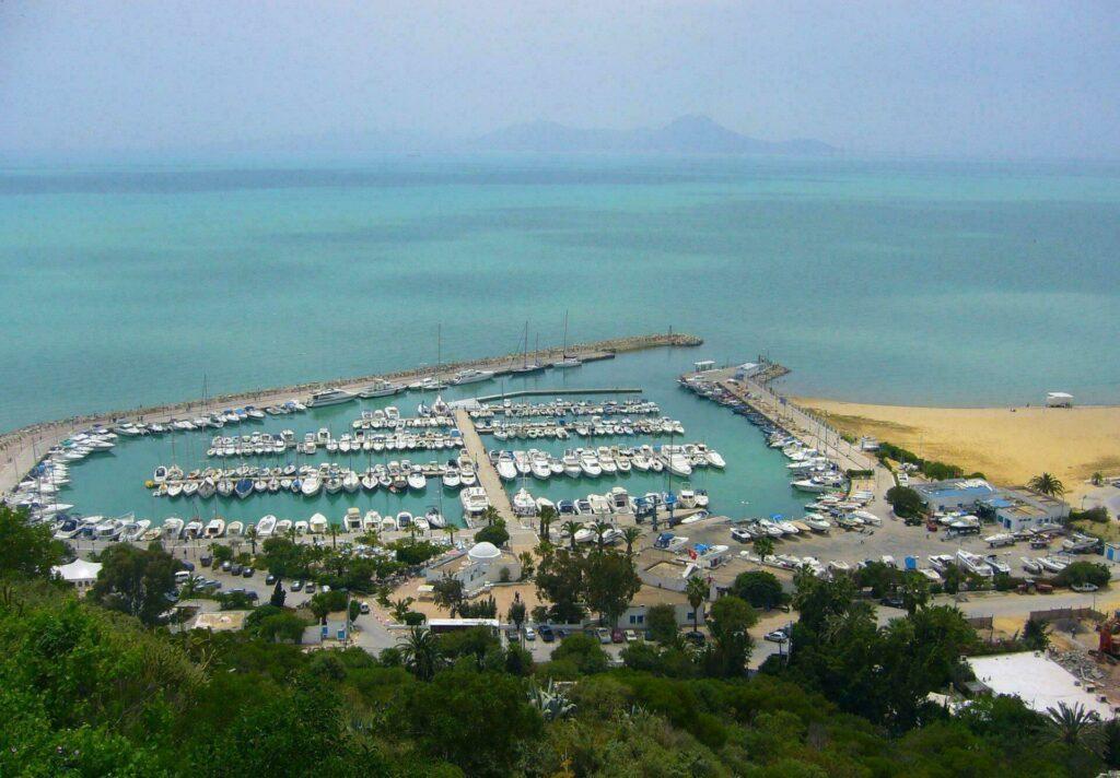 vue depuis Sidi Bou Saïd