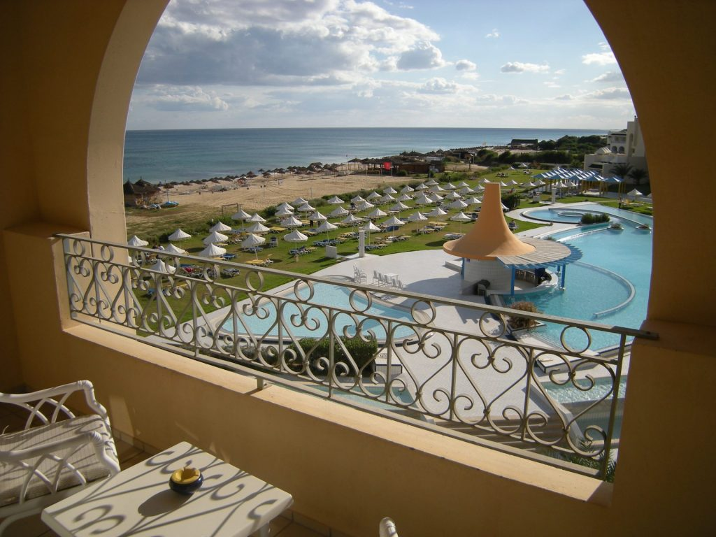 hotel en Tunisie