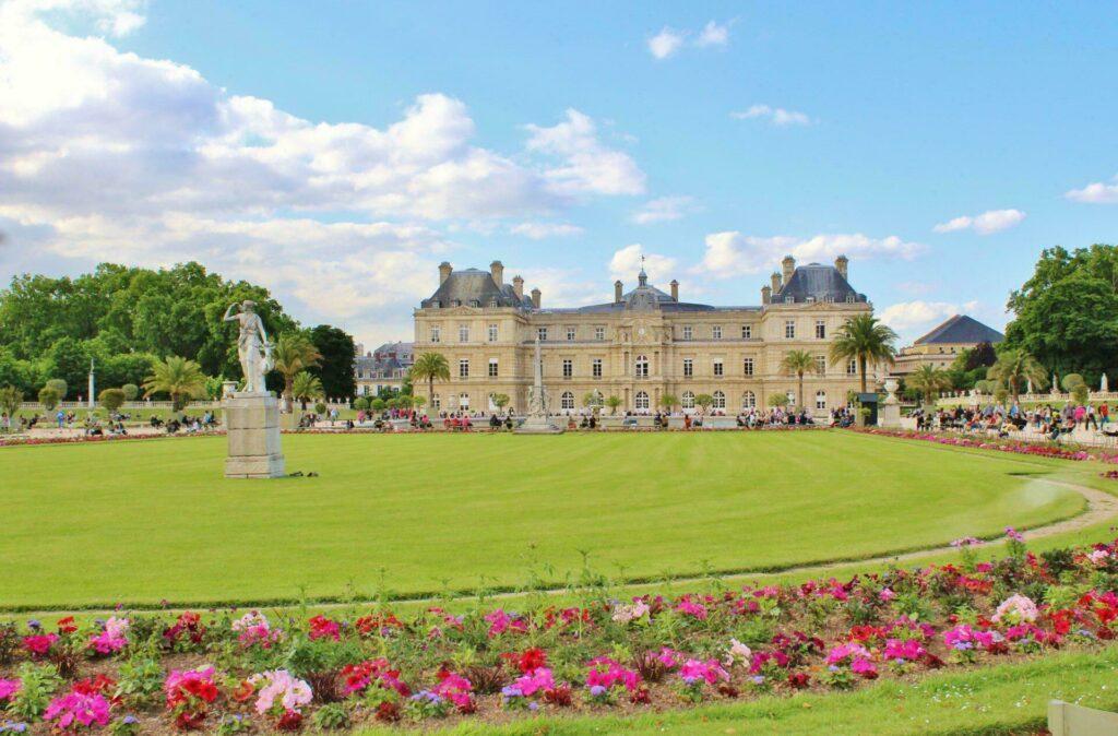 jardin Luxembourg à Paris