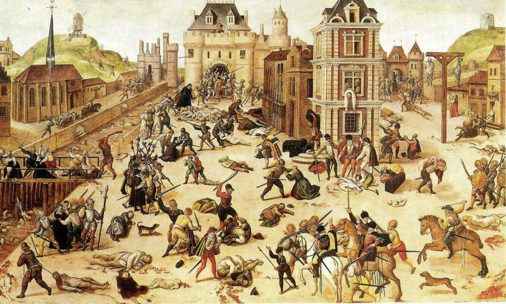 massacre Saint-Barthélémy Paris
