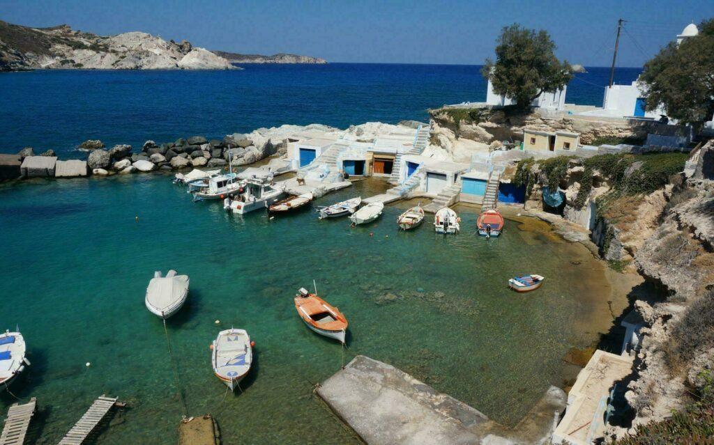 Milos Grèce