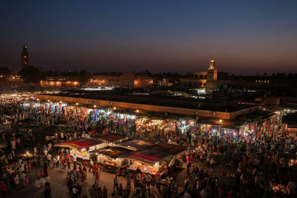 nuit Marrakech