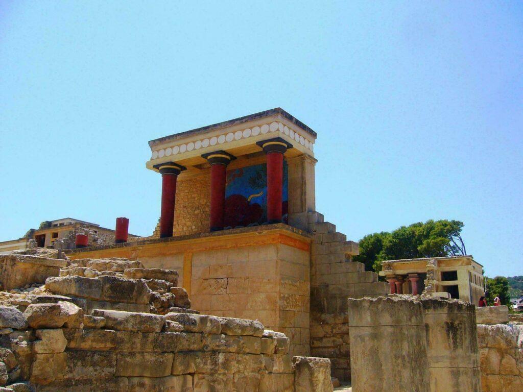 palais Knossos Crète