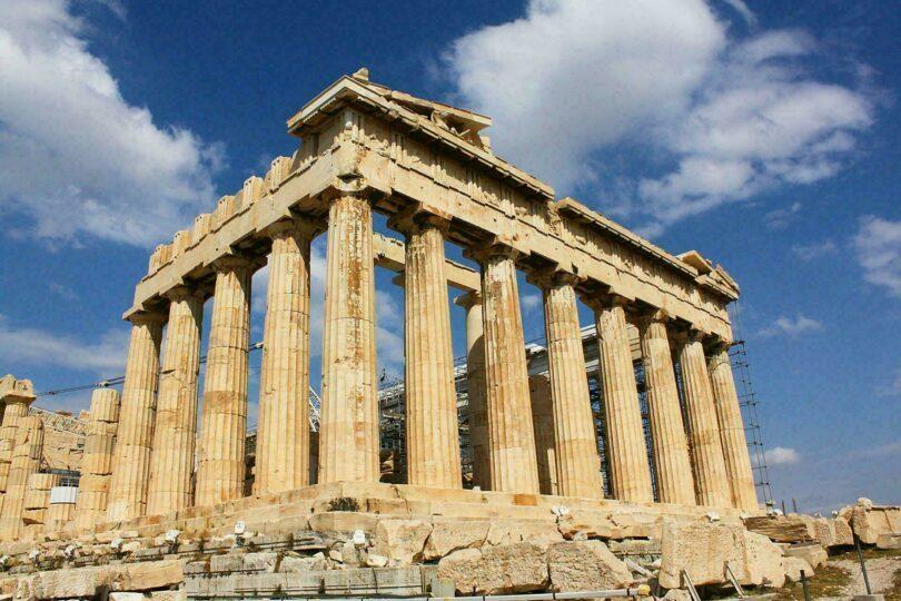 parthenon Grèce