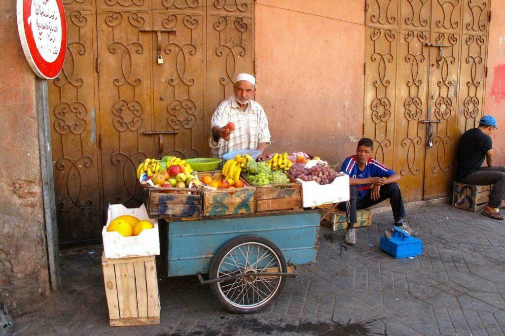 rues Marrakech