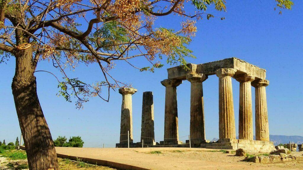 temple Corinthe