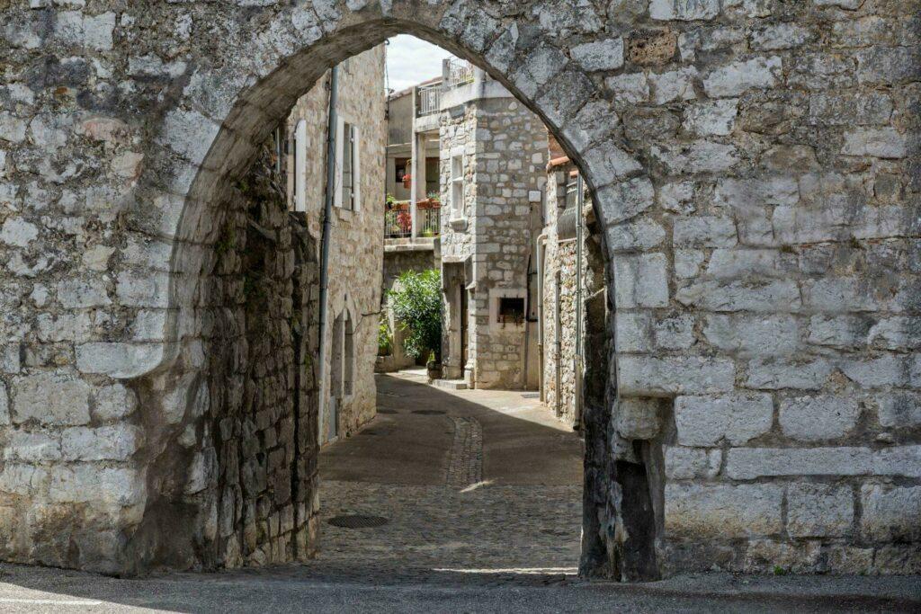 Ardèche Ruoms visite