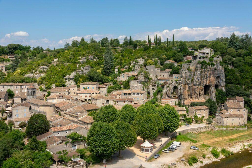 Ardèche village medieval Labeaume
