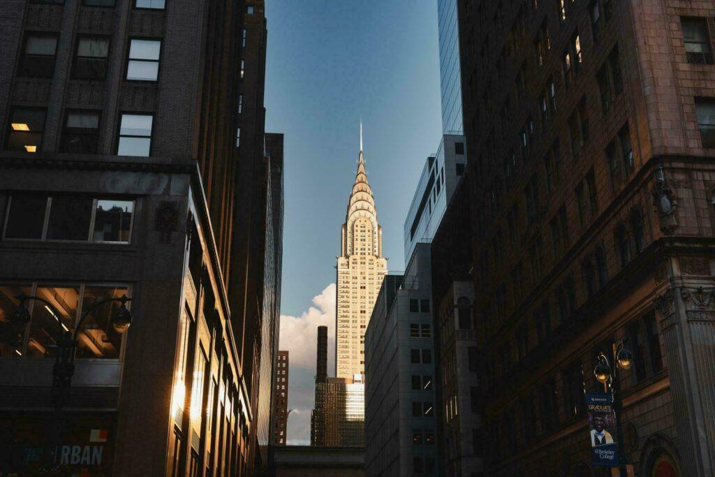 Le célèbre Chrysler Building