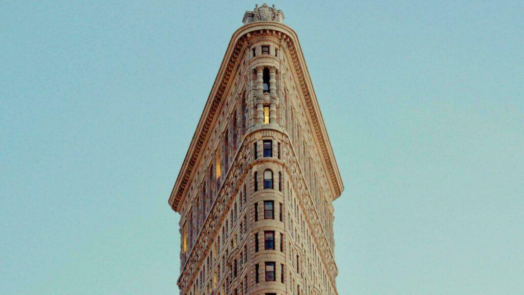 Le célèbre Flatiron building