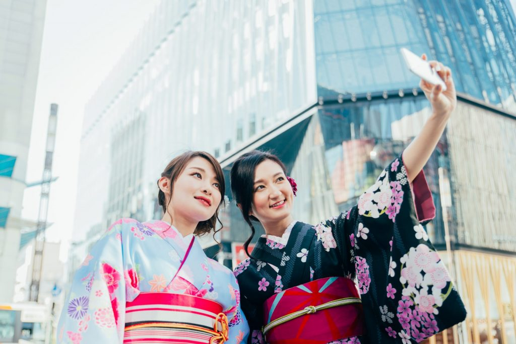 japonaises à Tokyo