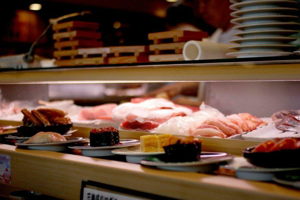 Kaiten Sushi à Tokyo