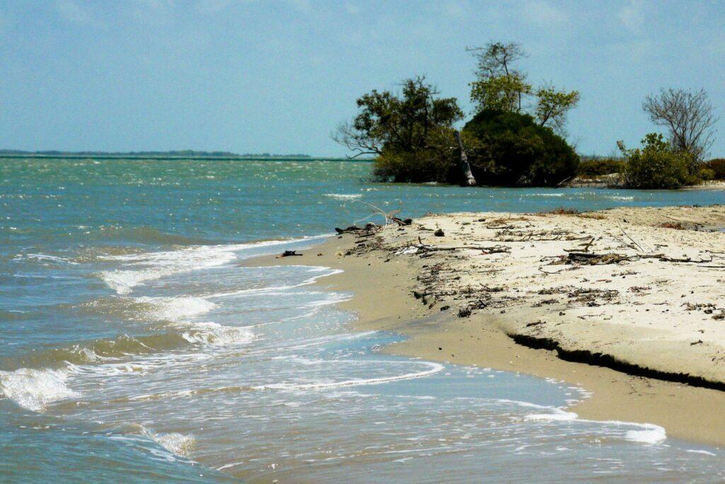 La plage de Kalpitiya au Sri Lanka