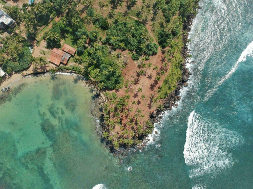 Mirissa plage au Sri Lanka