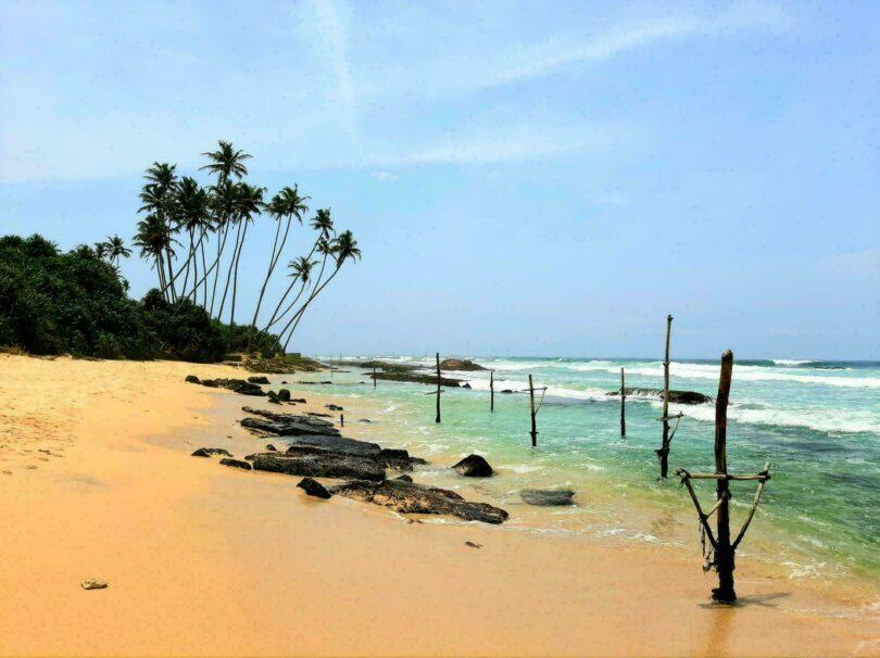 Les belles plages du Sri Lanka