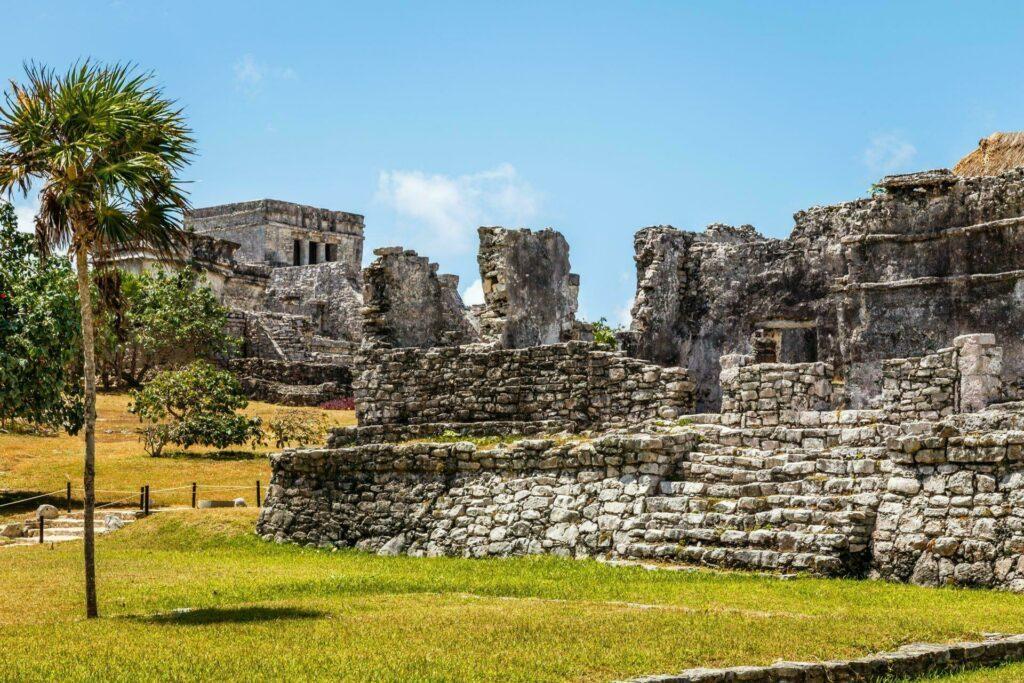 ruines temples Mayas