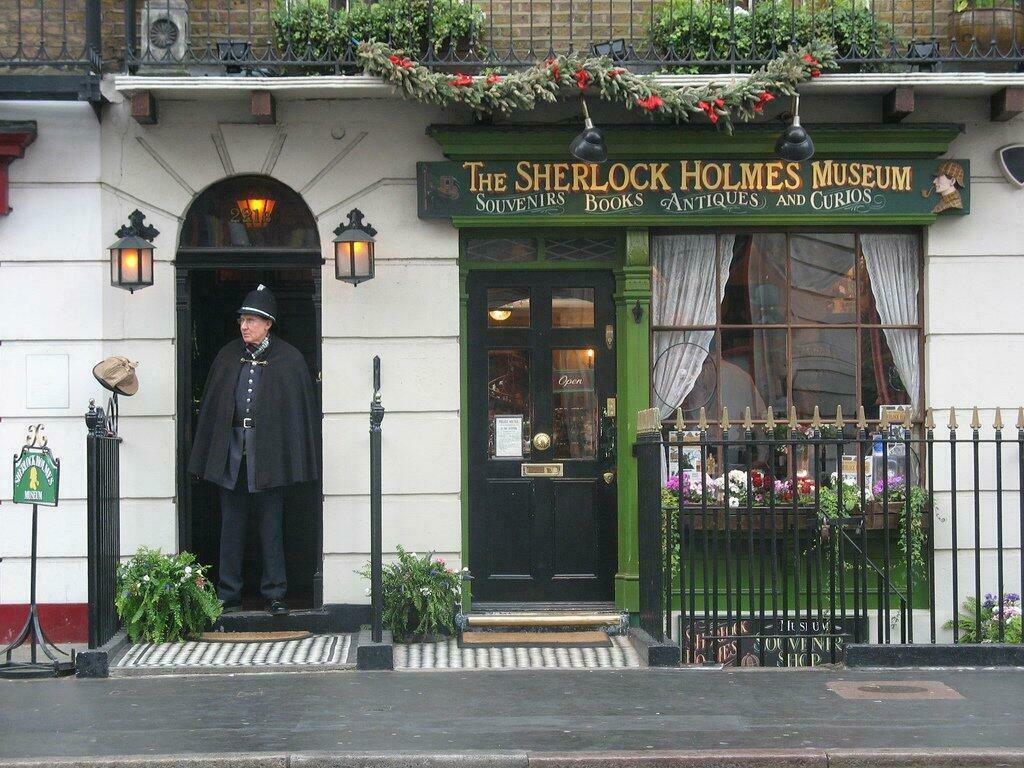 Sherlock Holmes musée