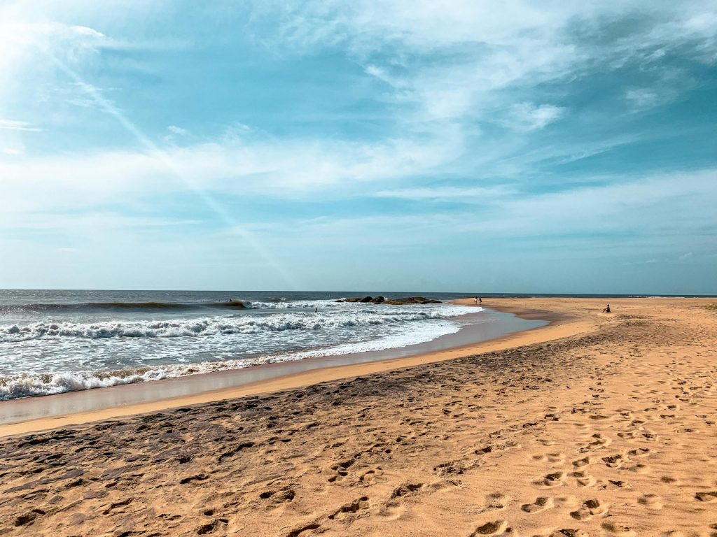 Komari plage au Sri Lanka