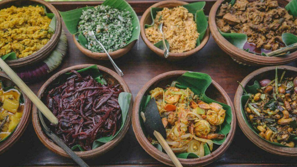 La nourriture sri lankaise