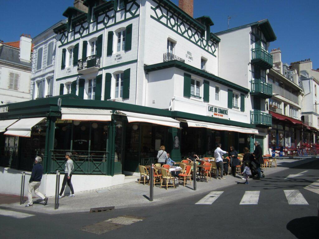 L'avenue Edouard VII
