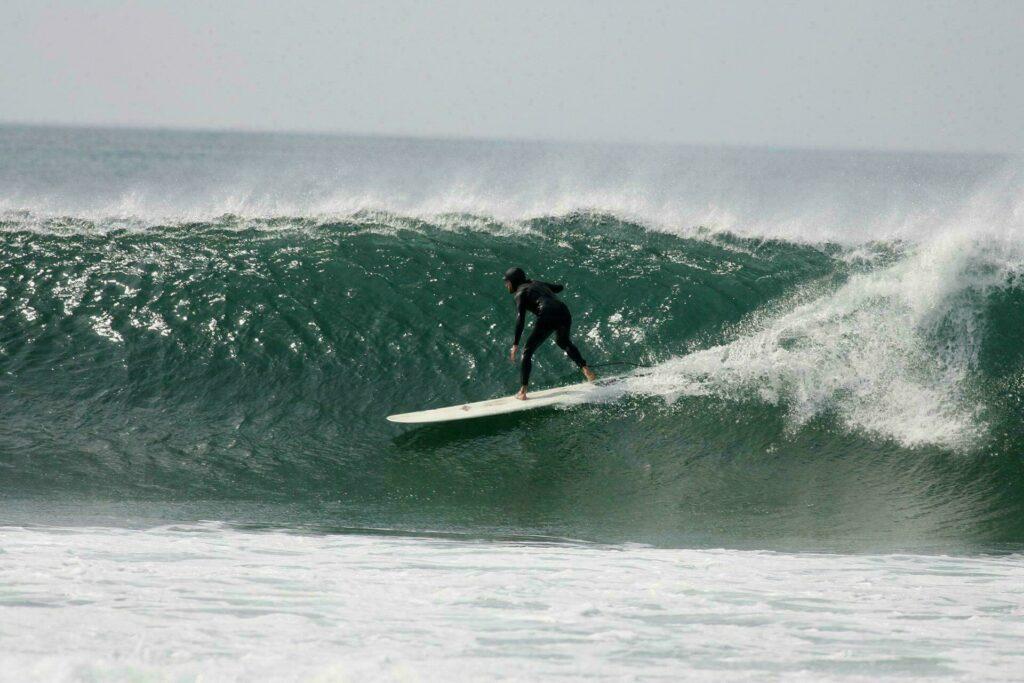 biarritz plage faire du surf
