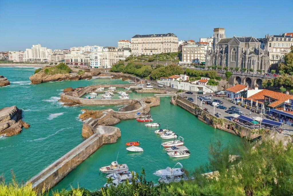 biarritz port pecheur