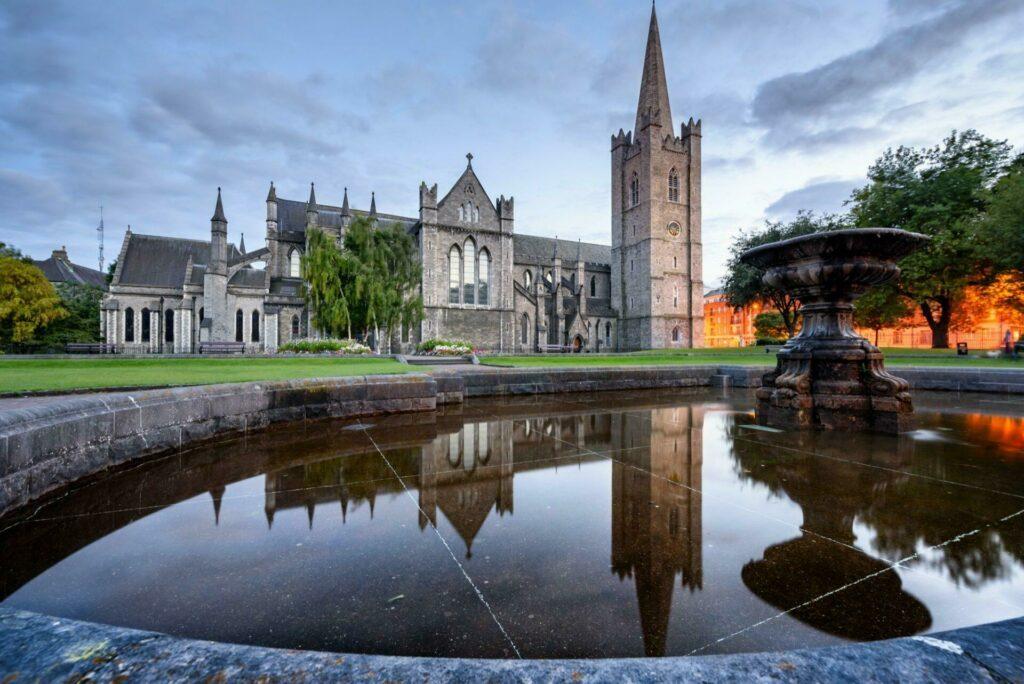Cathédrale St Patrick à Dublin