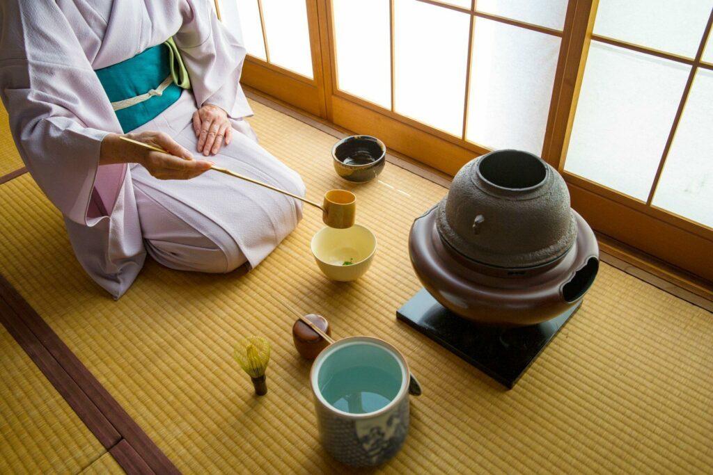 cérémonie thé Japon
