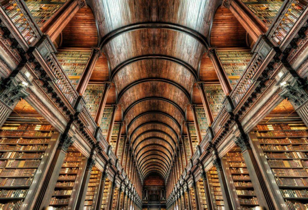 Dublin Tinity College interieur