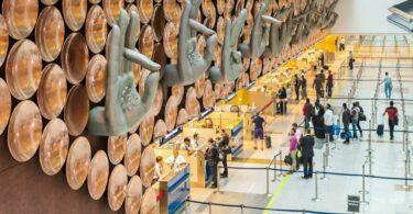 Inde Visa Aeroport international Indira Gandhi
