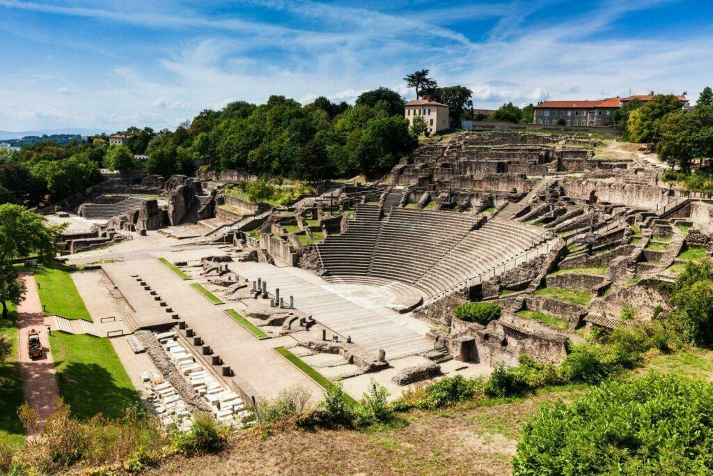 Lyon musée gallo-romain theatre