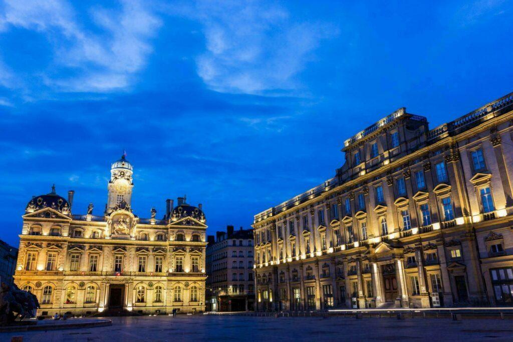 Lyon Place des Terreaux musée des Beaux Arts