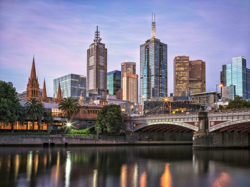 Melbourne ville australienne