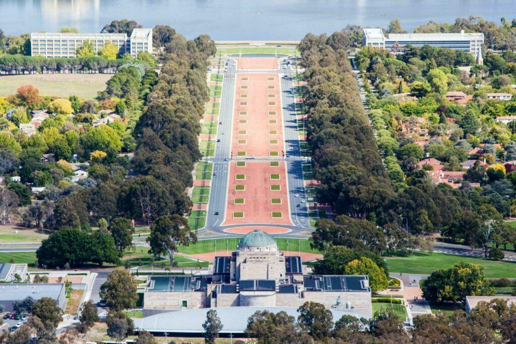 mémorial guerre Canberra