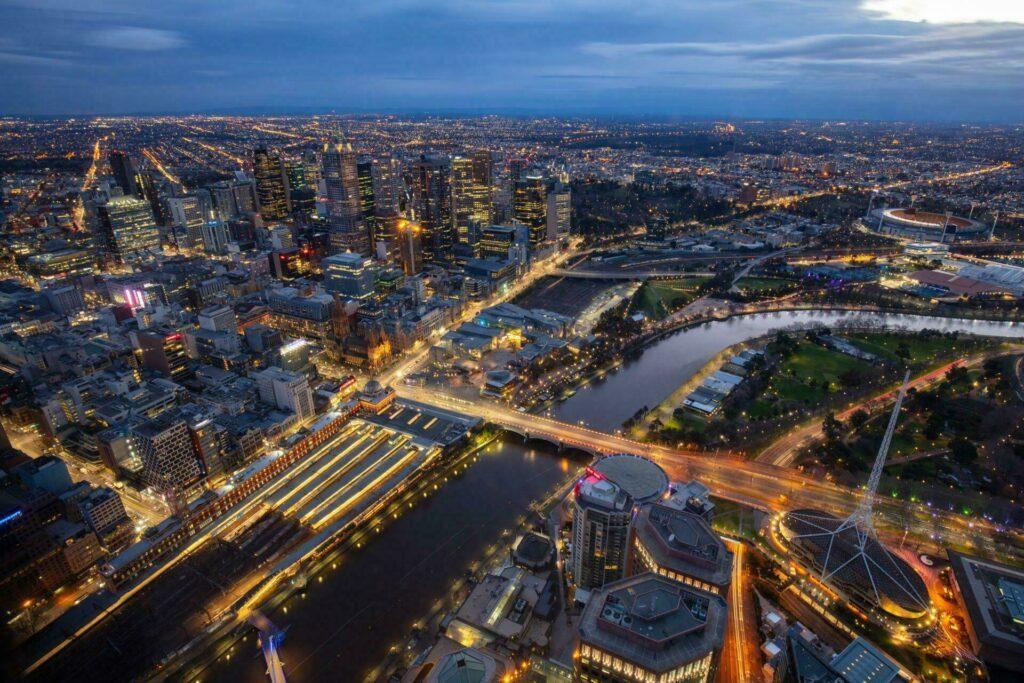 quartiers Melbourne