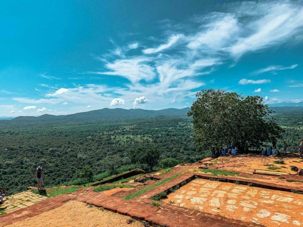 Étape de l'itinéraire à Sigiriya
