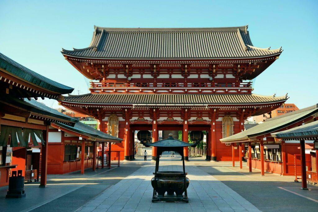 temple à Tokyo