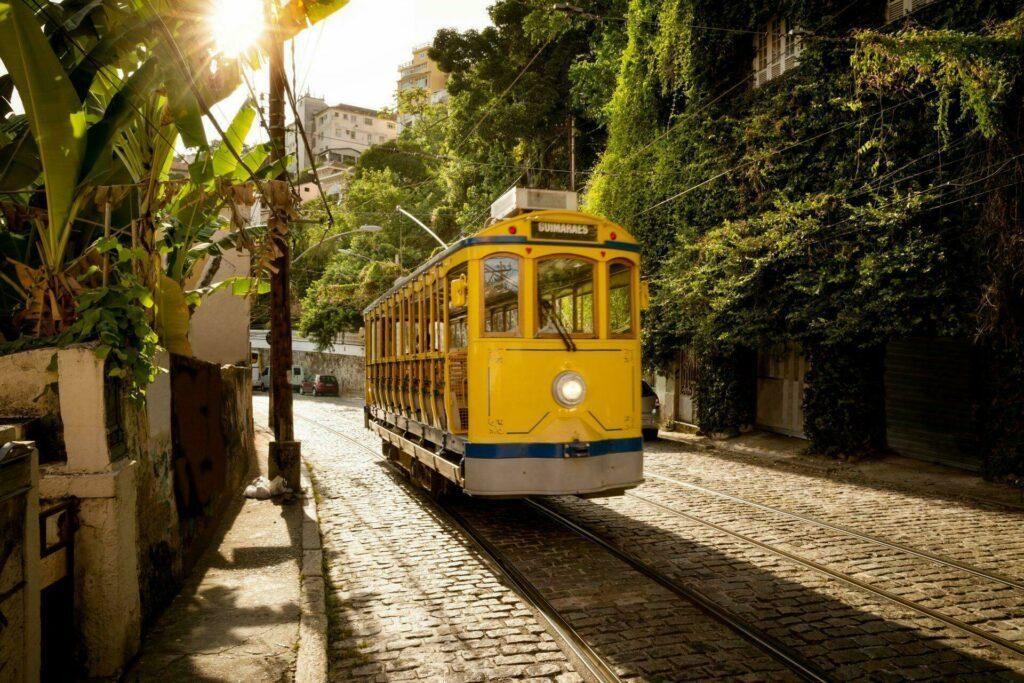 tramway Rio de Janeiro