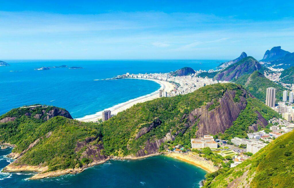 vue aérienne Rio