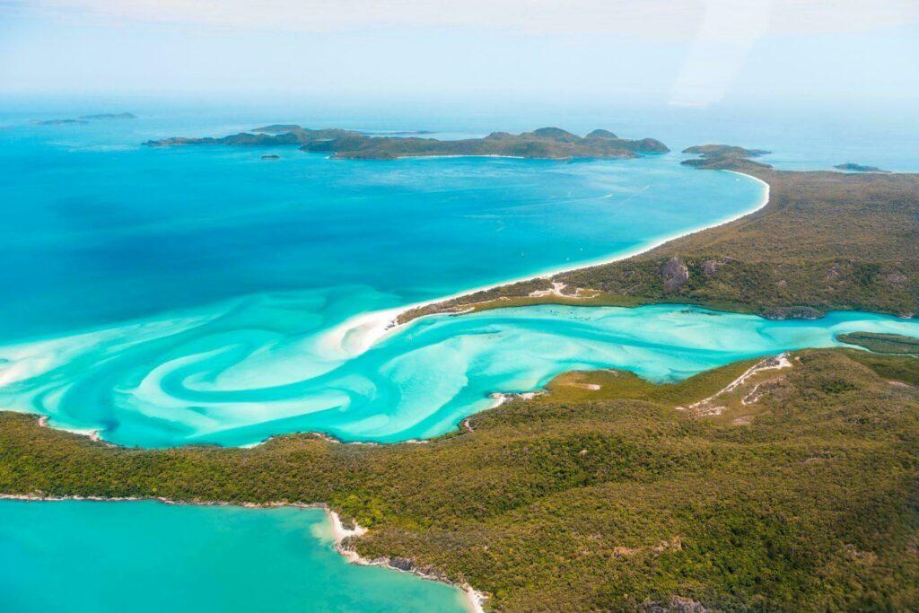 Whitehaven plages d'Australie