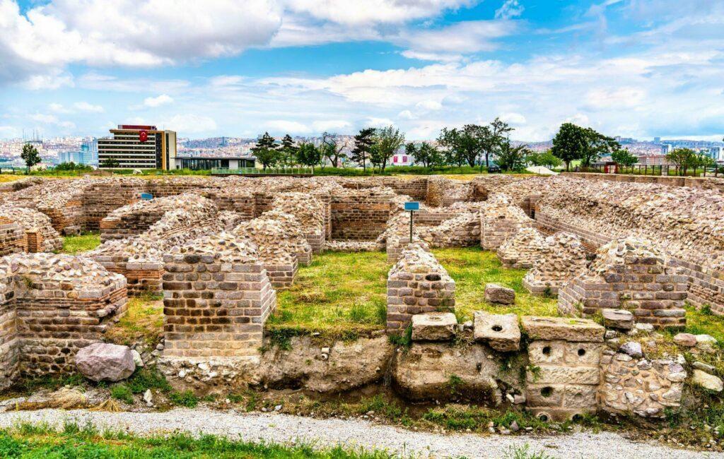 bains romains d'Ankara
