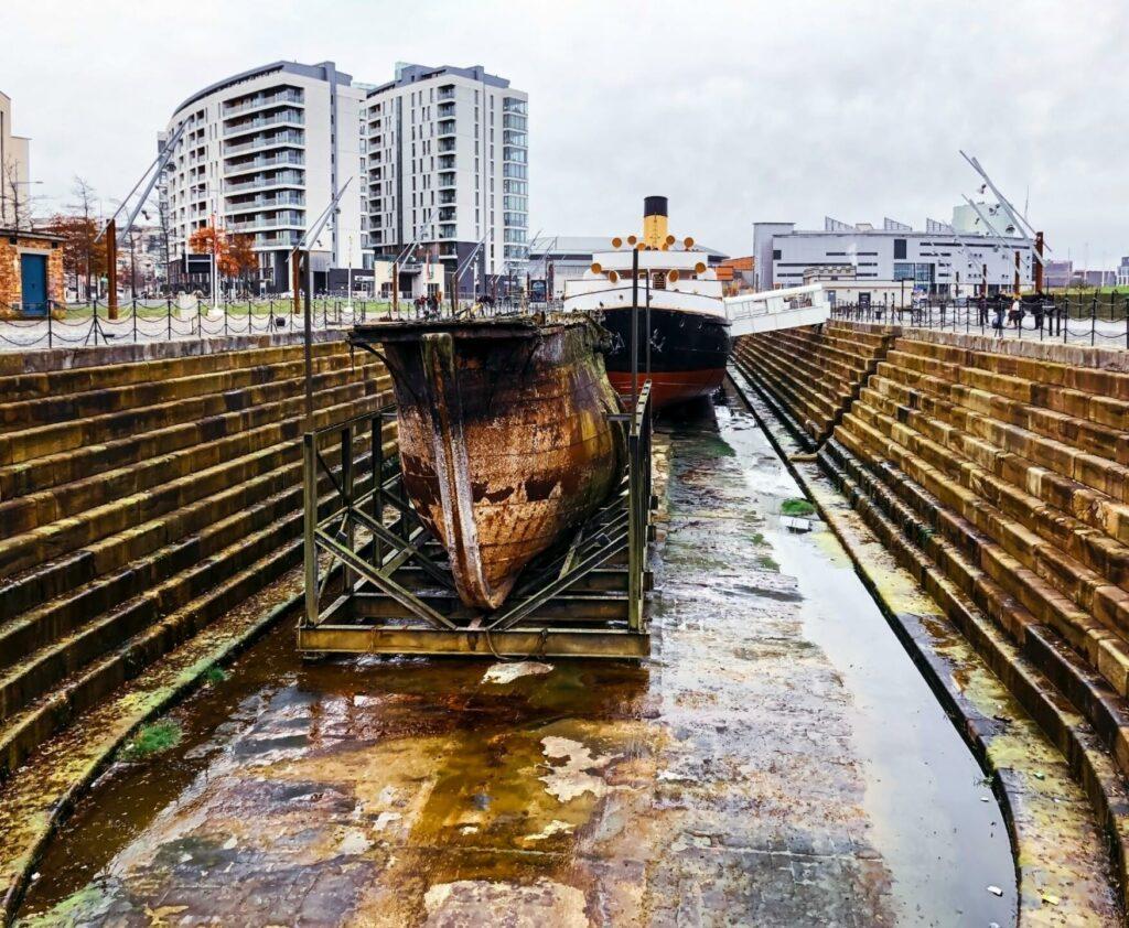 chantier naval Belfast