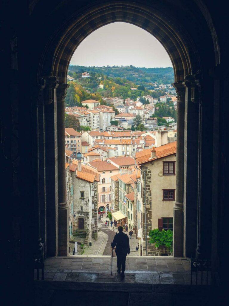 Porche de la cathédrale du Puy-en-Velay